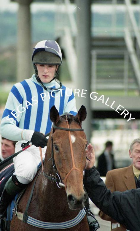 Racehorse Macgeorge with Jockey Mr Marc Barber